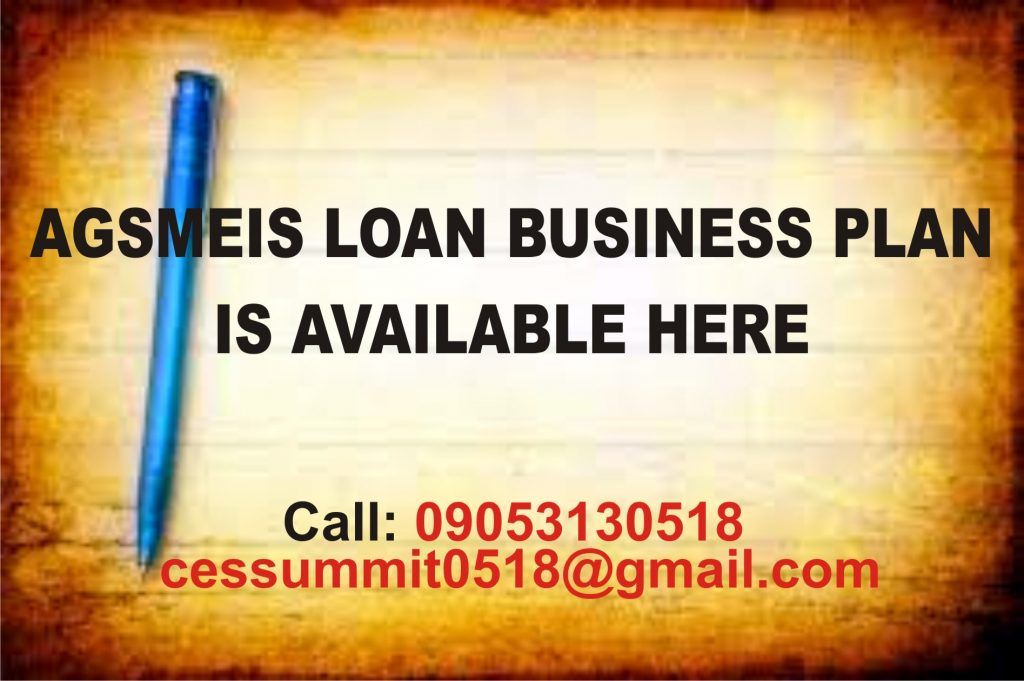AGSMEIS Loan Training is Ongoing Now