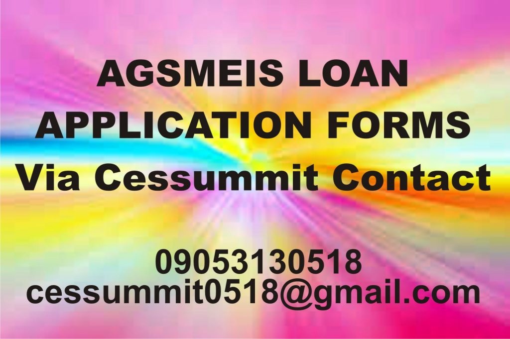 Cottage Industry for AGSMEIS Loan Apply